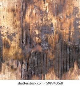 Burnt wood bark Texture.High-resolution seamless texture
