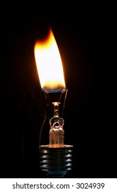 burnt-out bulb