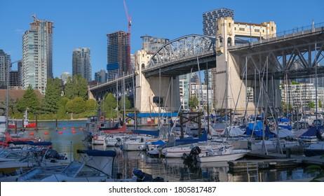Burrard Street Bridge in Vancouver
