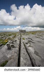 The Burren - Ballaghaline Townland around the cliffs opposite the Aran Ferry Terminal