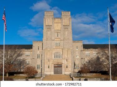 Burruss Hall at Virginia Tech