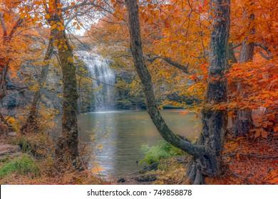 Bursa, Mustafa Kemal Pasha, the Republic Waterfall and Autumn Colors