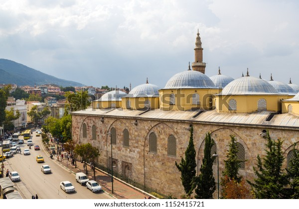 Bursa / Turkey - July 27 2018: Ulu Cami Bursa, Turkey