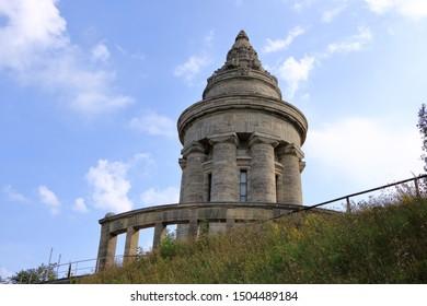 The Burschenschaftsdenkmal (lit. fraternity monument) in Eisenach in Thuringia, Germany