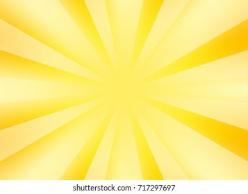 burst background for presentation with yellow color