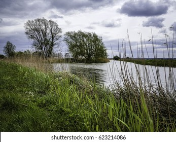 Burwell Lode meets Reach lode in Cambridgeshire