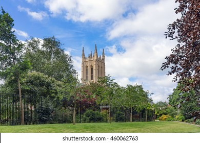 Bury St Edmunds/UK. 16th July 2016. The Abbey gardens