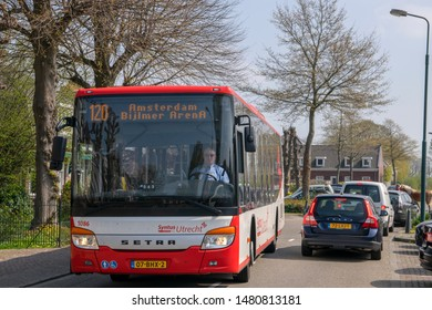 Bus 120 At The Centrum Of Abcoude The Netherlands 2019