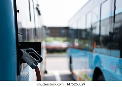 bus charging in bus staion