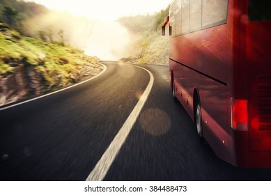 Bus road transport