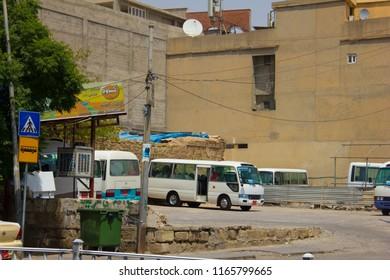 A Bus Station in Sulaymaniyah, Iraqi-Kurdistan July 14th 2018