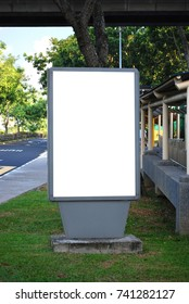 Bus stop signage