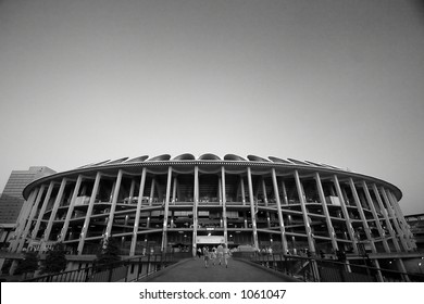 busch stadium (image contains noise)