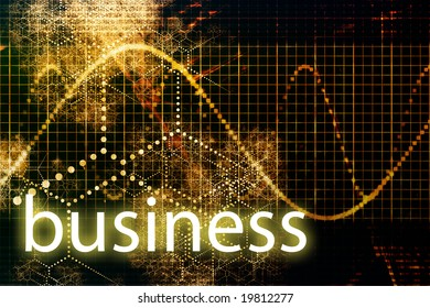 Business Abstract Technology Concept Wallpaper Background With Graph