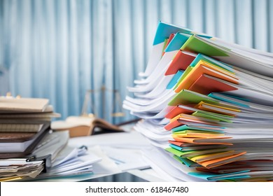 Business accounting paperwork for present with diagram display on office desk table.