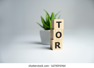 business acronym term TOR Terms of Reference, business concept.