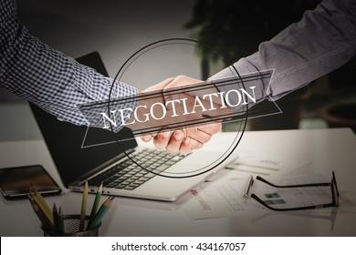 BUSINESS AGREEMENT PARTNERSHIP Negotiation COMMUNICATION CONCEPT