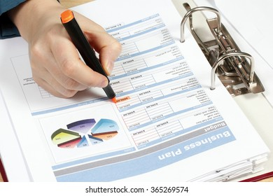 Business analysis,  business tables and charts