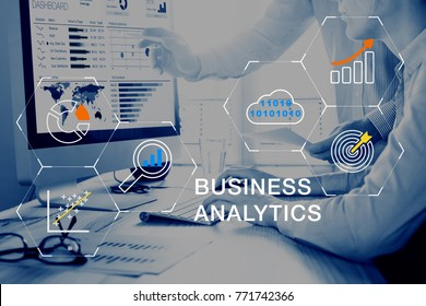 Business Analytics (BA) technology using big data, cloud computing and statistical model prediction to provide insights for financial and marketing strategy decisions