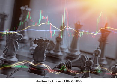 Business battle over stocks and gains and capital investments.