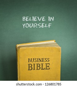 Business Bible commandment - Believe in yourself
