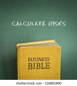 Business Bible commandment - calculate risks