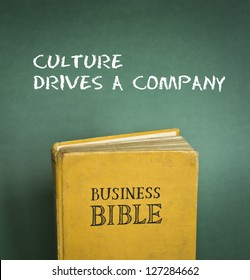 Business Bible commandment - Culture drives a company
