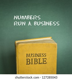 Business Bible commandment - Numbers run a business