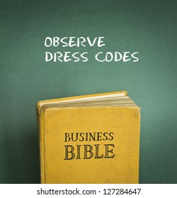 Business Bible commandment - Observe dress code