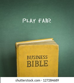 Business Bible commandment - Play fair