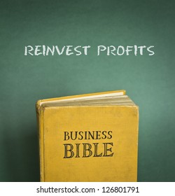 Business Bible commandment - Reinvest profits