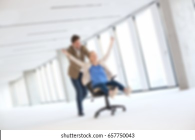 Business Blurred Concept