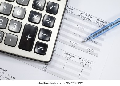 Business calculator accounting
