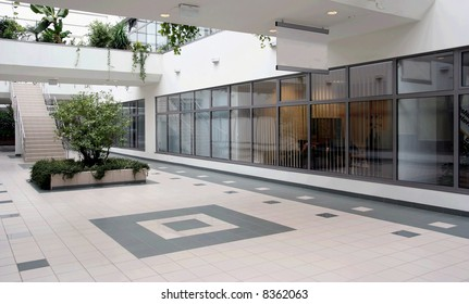Business center interior