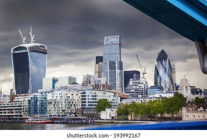 business center of London