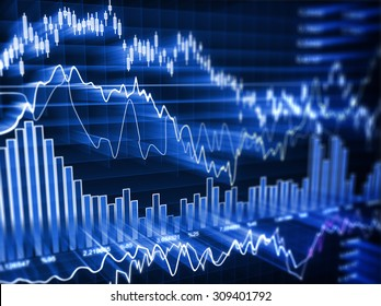Business chart , This is a computer generated and 3d rendered image.