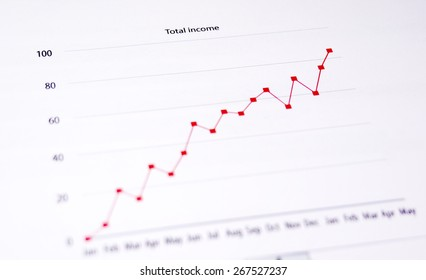 Business Chart - Total Income