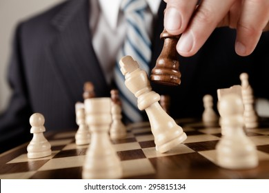Business, Chess, Strategy.