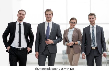 business colleagues in a modern office