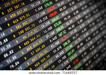 Stocks Quotes | Business Company Financial Balance Stock Quotes Stockfoto Jetzt