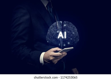 Business concept, Artificial intelligence.