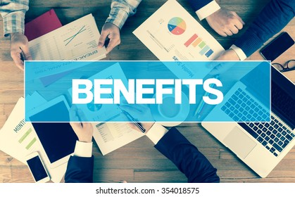Business Concept: BENEFITS