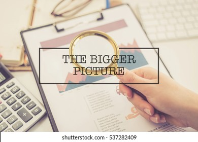 BUSINESS CONCEPT: THE BIGGER PICTURE