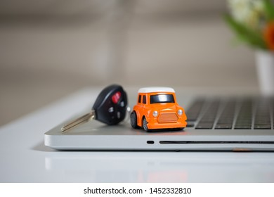 Business concept, car insurance, sell and buy car