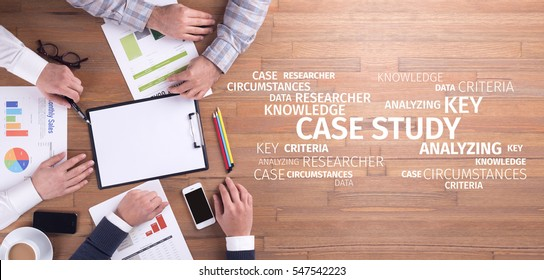 Business Concept: Case Study Word Cloud