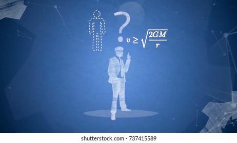 Business concept ideas. Glowing light bulb in dark. Creativity inspiration concept ideas. Man holding luminous idea