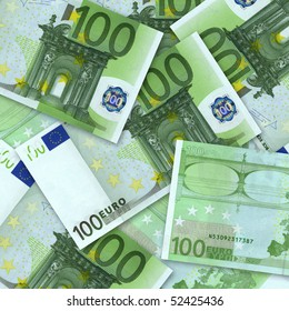 business concept. money background from euro banknotes
