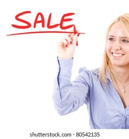 Business concept: sale