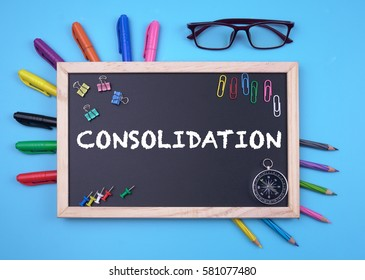 Business Concept writing Consolidation on Blackboard