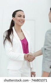 business concept.handshake business people
